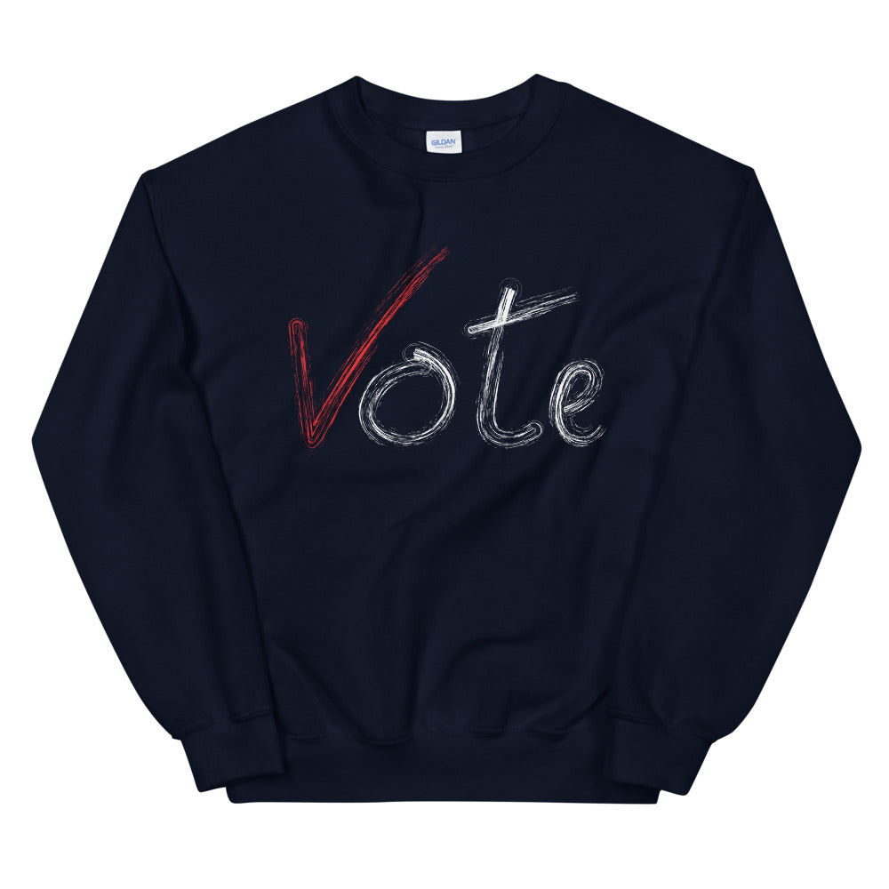 Limited Edition Vote Sweatshirt - Black Love Boutique