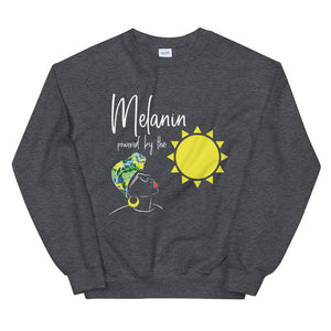Limited Edition Melanin Powered By The Sun Sweatshirt - Black Love Boutique