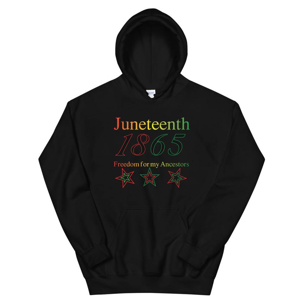 Limited Edition Juneteenth Hoodie - Black Love Boutique