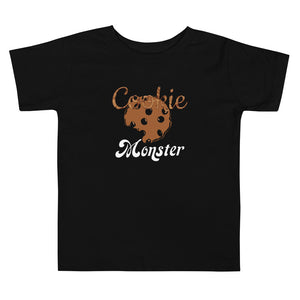 Limited Edition Toddler Cookie Monster Toddler Tee - Black Love Boutique