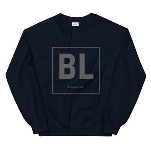 Limited Edition Black Love Black Logo Sweatshirt - Black Love Boutique