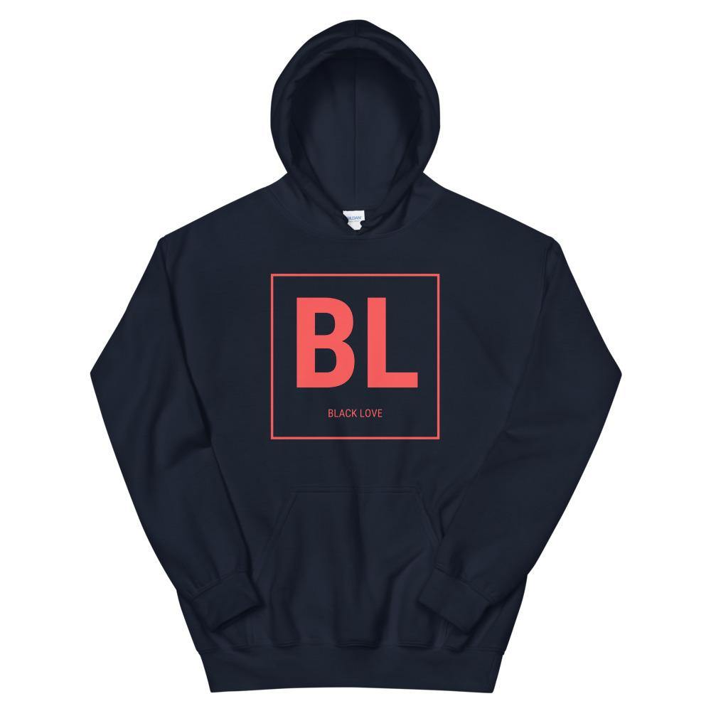 Limited Edition Black Love Red Logo Hoodie - Black Love Boutique