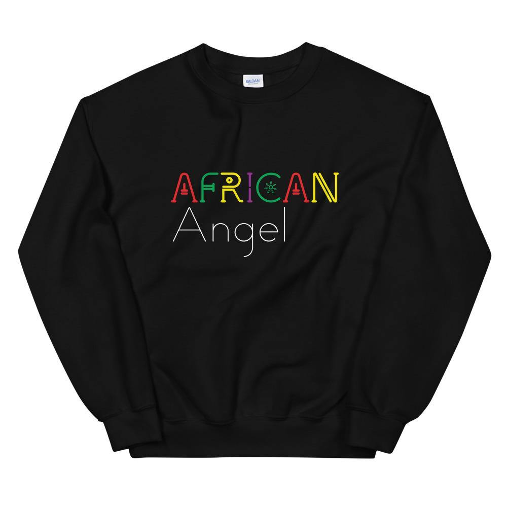 Limited Edition African Angels Sweatshirt - Black Love Boutique