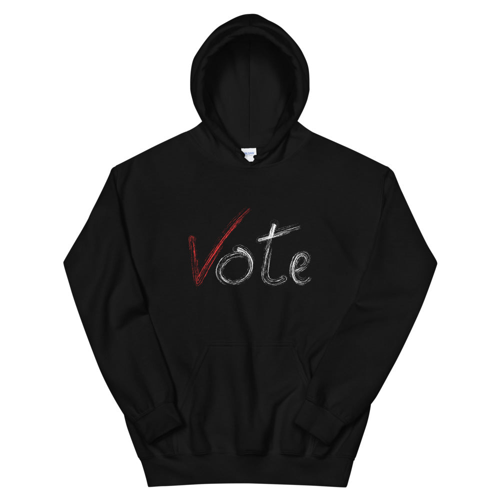 Limited Edition Vote Hoodie - Black Love Boutique