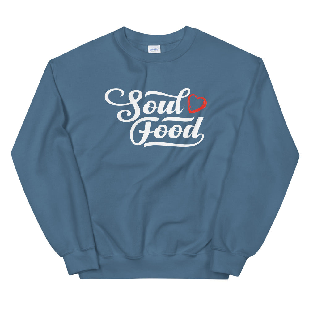 Limited Edition Soul Food Heart Sweatshirt - Black Love Boutique