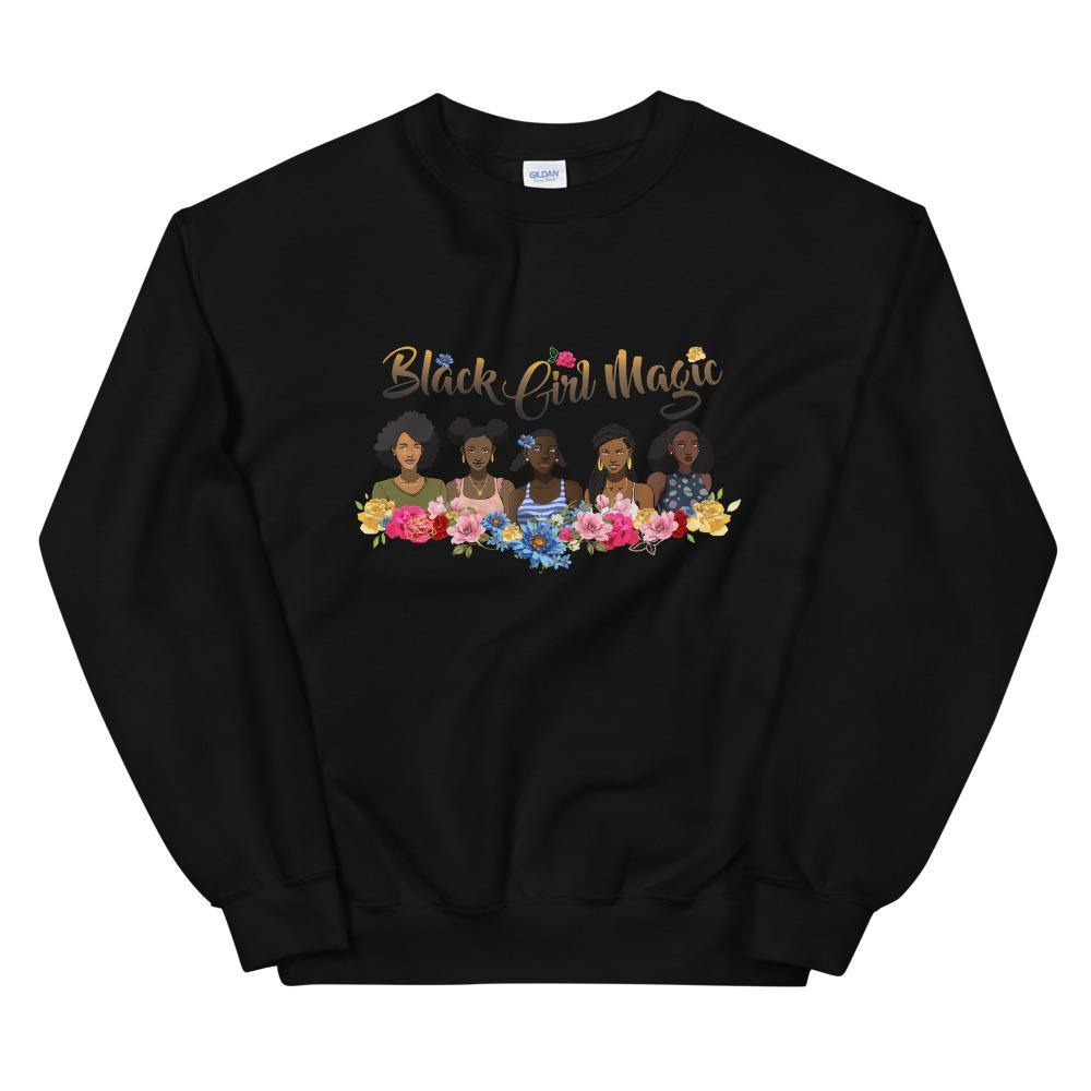 Limited Edition Black Girl Magic 2 Sweatshirt - Black Love Boutique