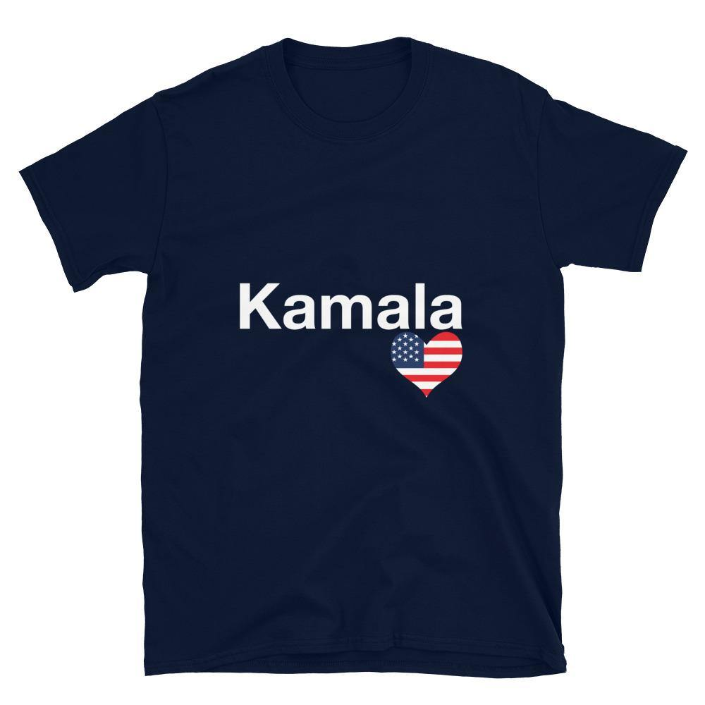 Limited Edition Kamala Heart T-Shirt - Black Love Boutique
