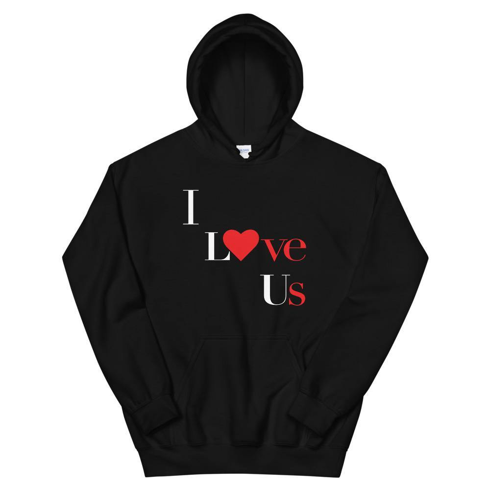 Limited Edition I Love Us Hoodie - Black Love Boutique