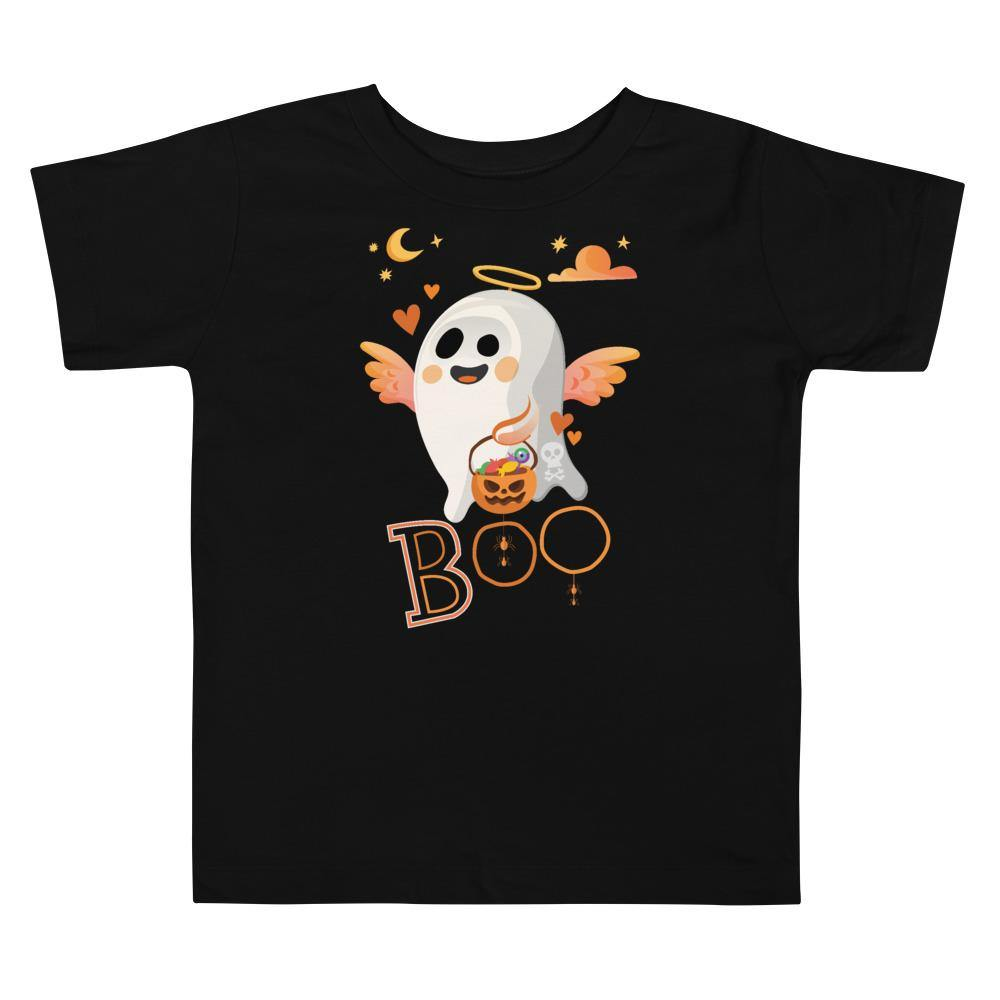 Limited Edition Boo Toddler Tee - Black Love Boutique