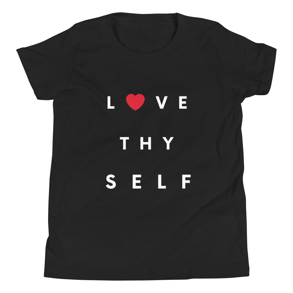 Limited Edition Youth Love Thy Self Youth T-Shirt - Black Love Boutique