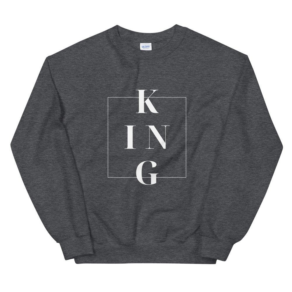 Limited Edition King Sweatshirt - Black Love Boutique