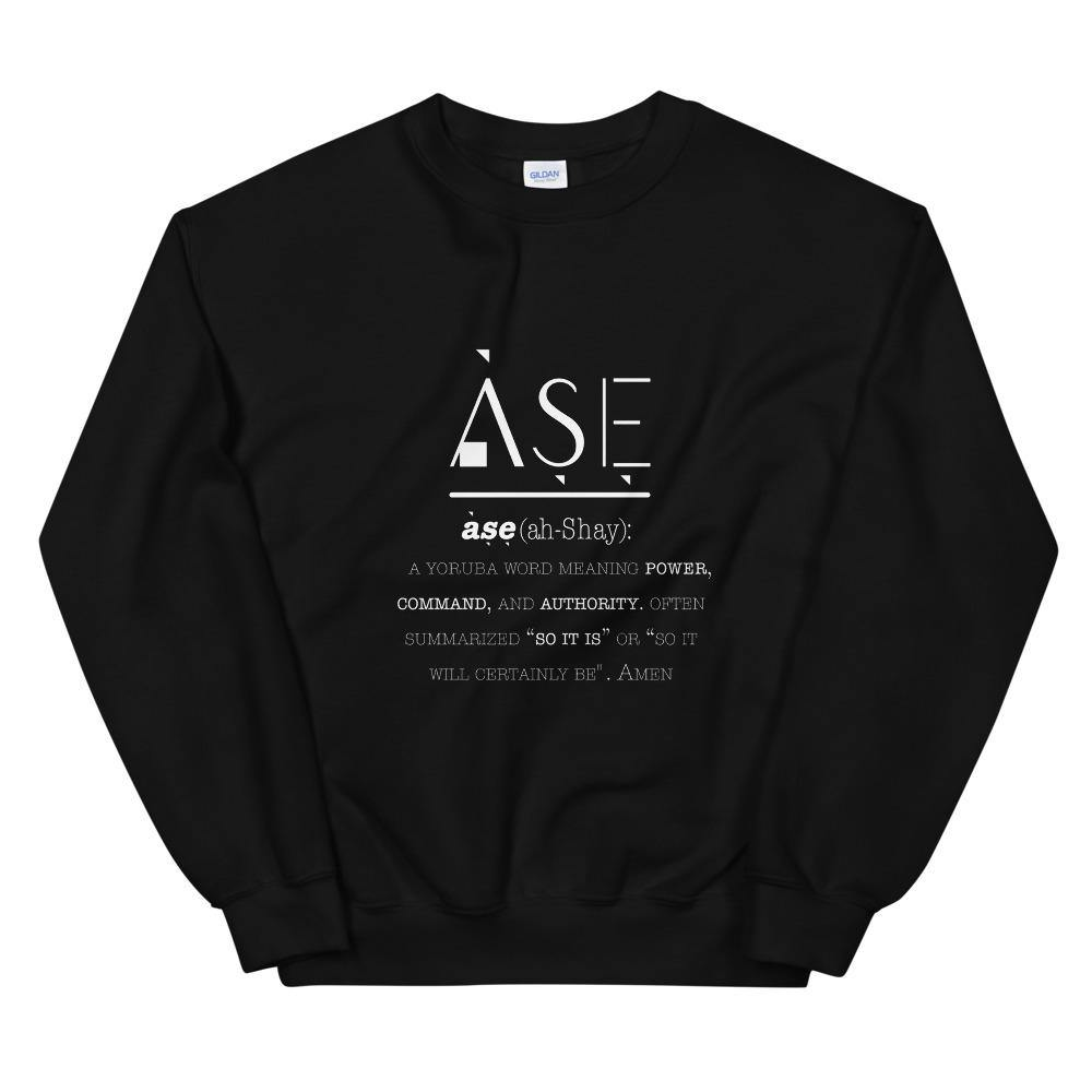 Limited Edition Ase Sweatshirt - Black Love Boutique