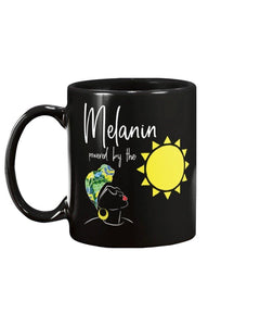 Limited Edition Melanin Powered By The Sun 11oz Mug - Black Love Boutique