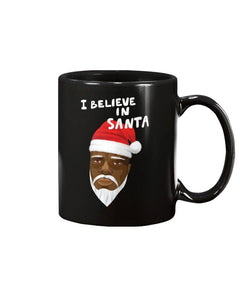 Limited Edition I Believe In Santa 11oz Mug - Black Love Boutique