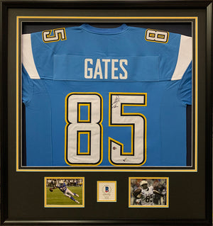 Framing Football Jersey of Antonio Ethan Gates Jr.