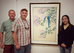 Congratulations - Kejie's New Work: Whisper In Clove (Parrots & Clove), is collected by Michael and James