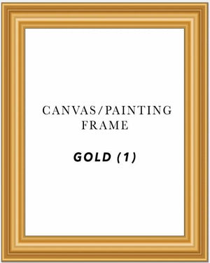 "3"" Deep Gold Painting/Canvas Art Frame ( Gold 1)"