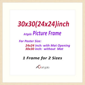 Picture Frame  Maple 1""