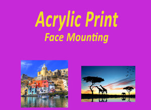 Acrylic Print Face Mounting