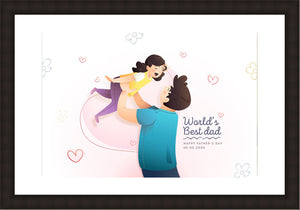 Father's Day Special Gift          Frame + Photo