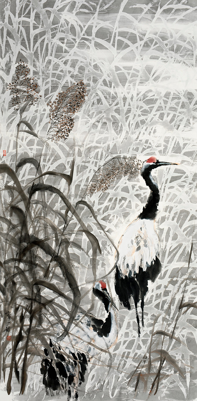 Wondering at Pond of Reeds 芦塘漫步