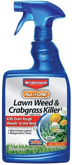 Bayer BioAdvanced All In One Lawn Weed & Crabgrass Killer 24oz Ready To Use