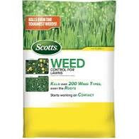 Scott's Weed Control For Lawns 5000SqFt Granular Bag
