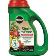 Miracle-Gro Shake 'n Feed Tomato, Fruit & Vegetable Plant Food 4.5 Granular Jug