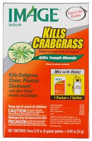 Image Herbicide Kills Crabgrass Powder Tank Mix 3 (8g) packets = 24g