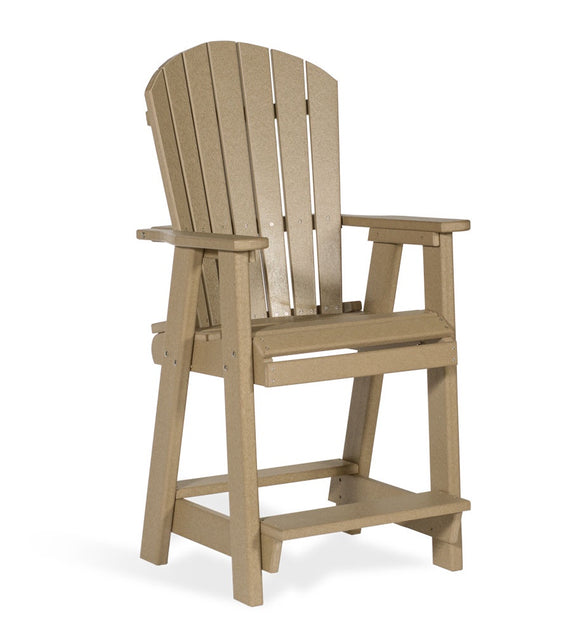 Balcony Chair Cedar & Black