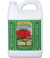 Fox Farm Grow Big Liquid Plant Food 1 Gal Concentrate 6-4-4