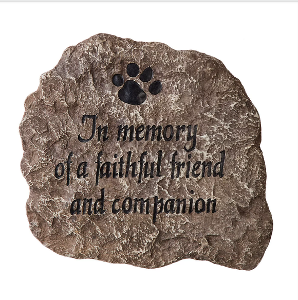 Stepping Stone - In Memory of a Faithful Friend/Companion