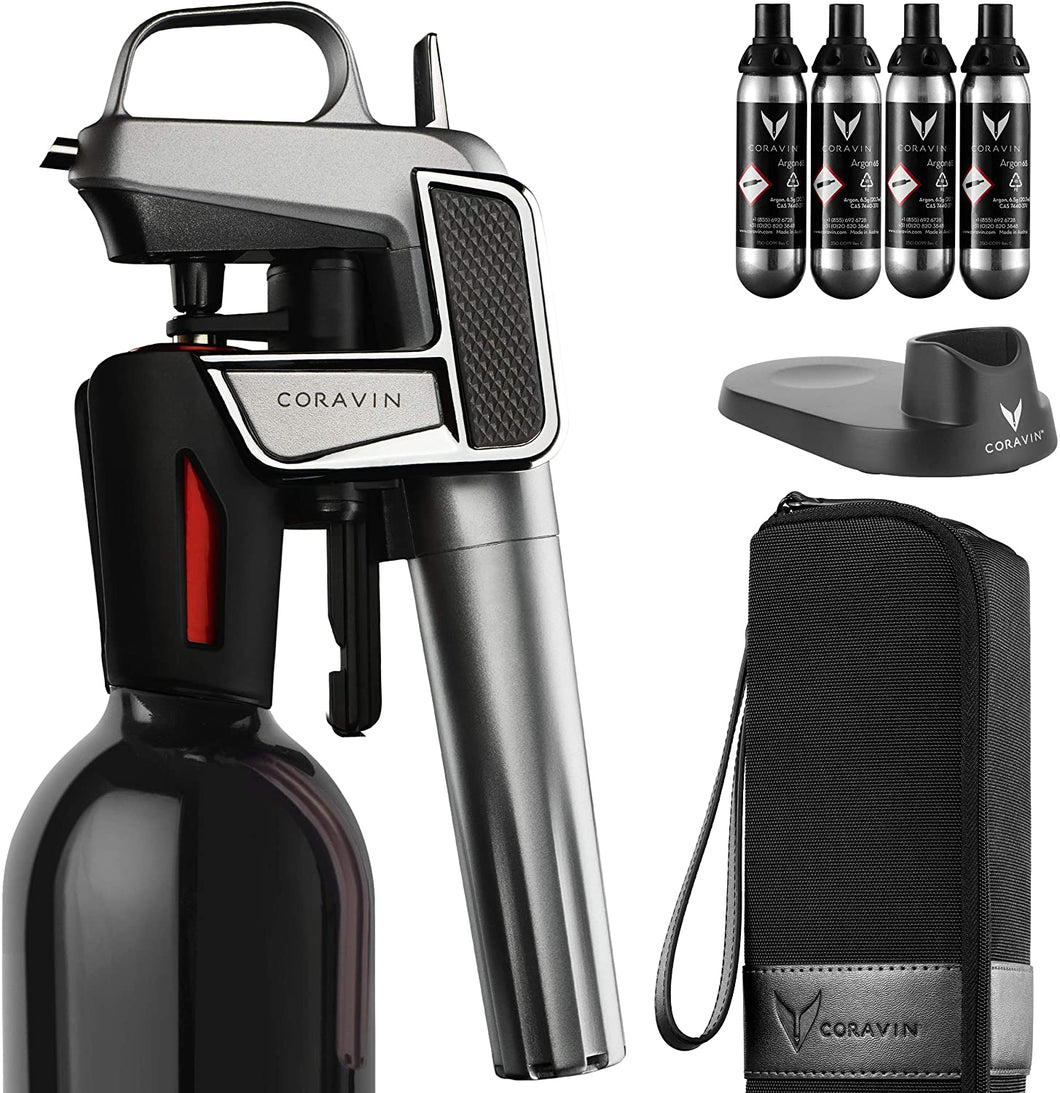 Coravin Model Two Elite Pro - Wine Preservation System, Silver