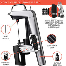Load image into Gallery viewer, Coravin Model Two Elite Pro - Wine Preservation System, Silver