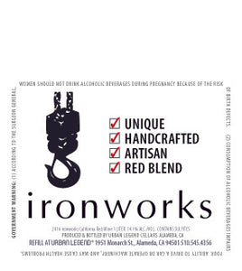 Ironworks (Nebbiolo/Sangiovese/Cabernet Franc) (1 L Growlers)