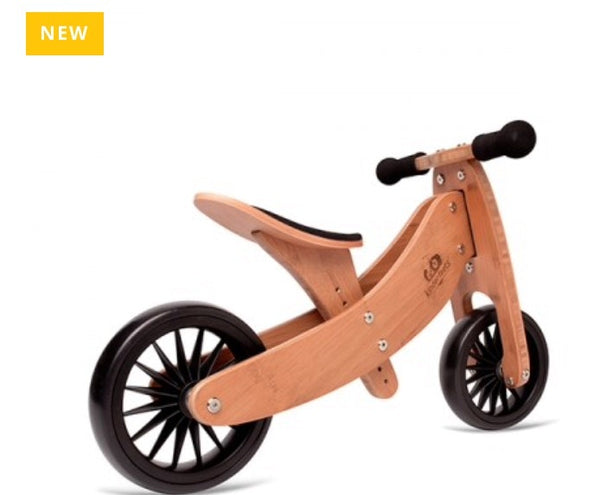 kinderfeets 2-1 Trike /bike plus is a bigger size for bigger children age 1-18mths+