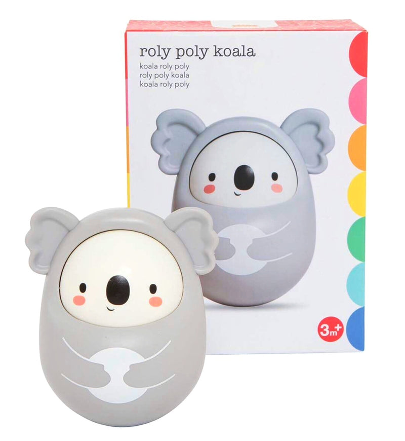 Roly Poly Koala in grey
