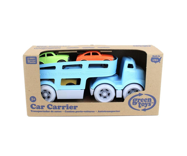 Green Toys Car Carrier in multi colour print