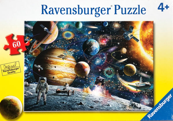 Ravensburger - Jigsaw Puzzle, 60 Pieces, Outer Space
