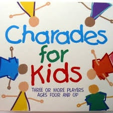 Holdson - Charades for kids in multi colour print