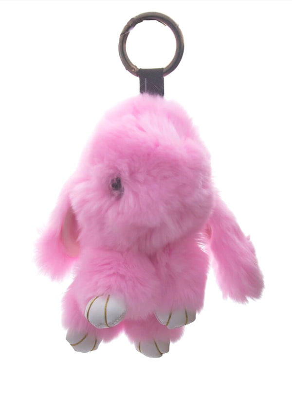 Huckleberry - Bunny Bag Charms in Pink