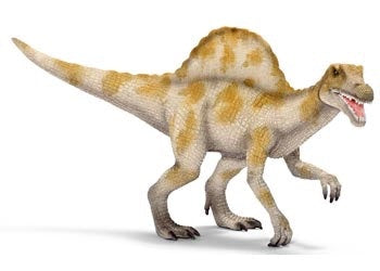 An 18 metre tall carnivorous dinosaur with a striking back feature which looks like a sail. Recommended age 4-12 years