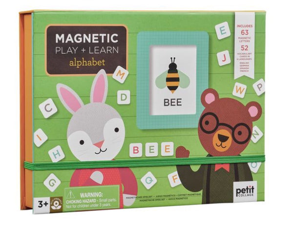 Petit Collage - Magnetic Play & Learn, Alphabet