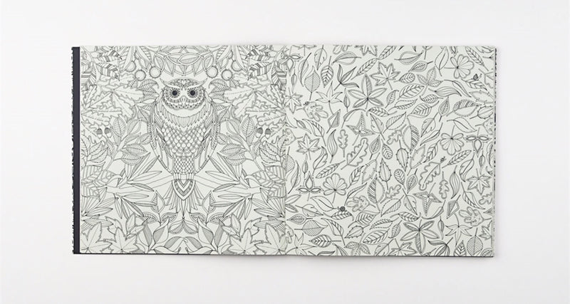 Colouring Book - Secret Garden