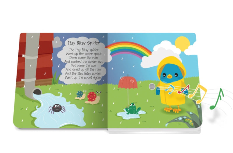 Ditty Bird Music Board Book - Nursery Rhymes  in multi colour print