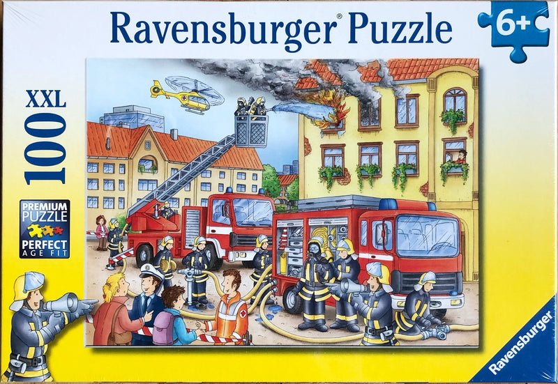 A Fire Brigade detailed puzzle. Recommended age 6+ Puzzle size 49 cm x 36 cm Made from sustainable materials