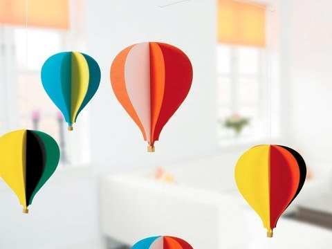 Flensted - Balloon 5 in multi colour print