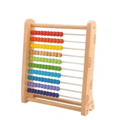 Our finely crafted Abacus keeps your child's attention, helps build concentration, hand-eye coordination and counting skills. The colourful Abacus promotes visual understanding and strengthens the motor talent of your child. Recommended age 3+