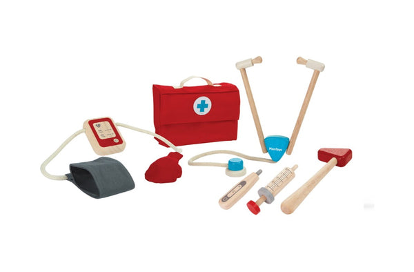 Plan Toys - Wooden Doctor Play Set