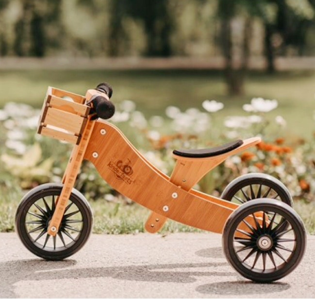Kinderfeets - Tiny Tot Plus 2-in-1 Trike in Bamboo
